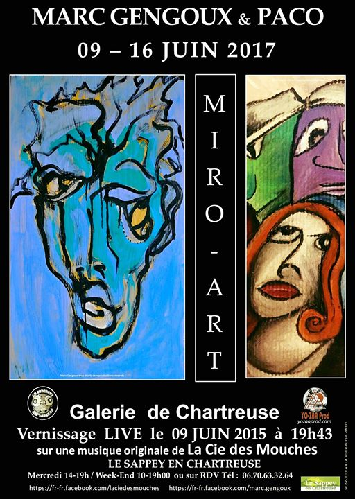 MiroArt nouvelle exposition