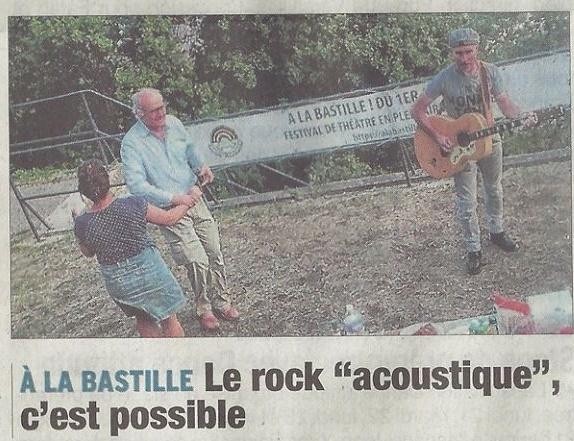 Report: Festival A La Bastille – Stefan Rock – Aout 2017