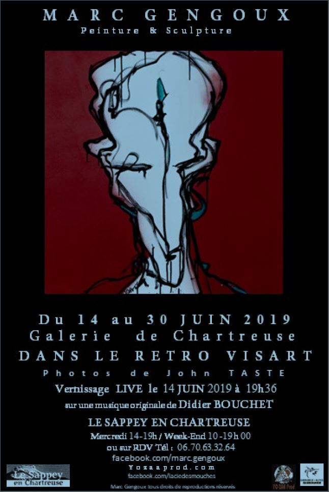 Marc Gengoux – Retro Visart Expo/Vernissage